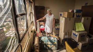 Myra Demetriou was the last resident of the iconic Sirius building in The Rocks. She moved out last January.