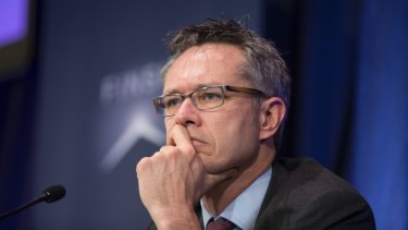 Guy Debelle said the RBA expected gradual progress in reducing the jobless rate from 5.5 per cent.