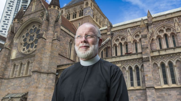 The Anglican Dean of Brisbane, Dr Peter Catt, believes churches should formally recognise same-sex unions.