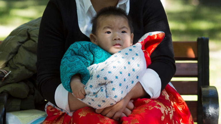 Companies that make baby products are already benefiting from a likely relaxation of China's limited birth policy.