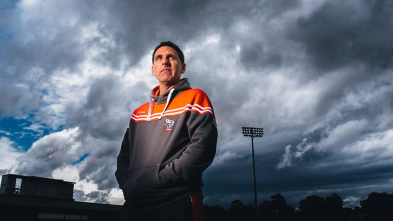 Former Canberra Vikings coach Tim Sampson is now in charge of the Western Force.
