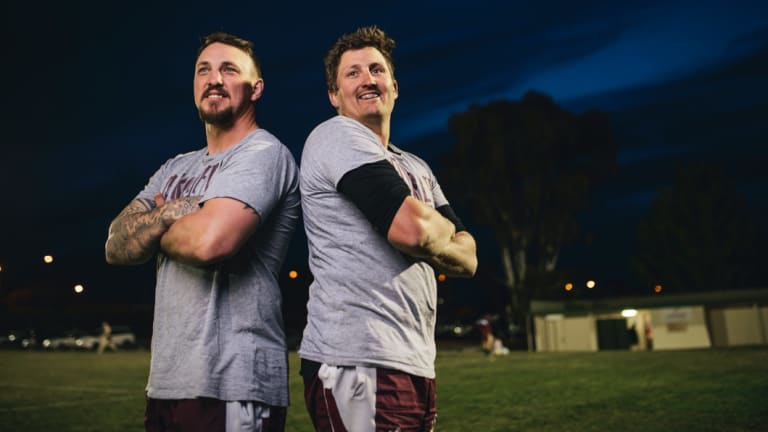 Troy Whiley and Josh Ayers wants to bury heartache.