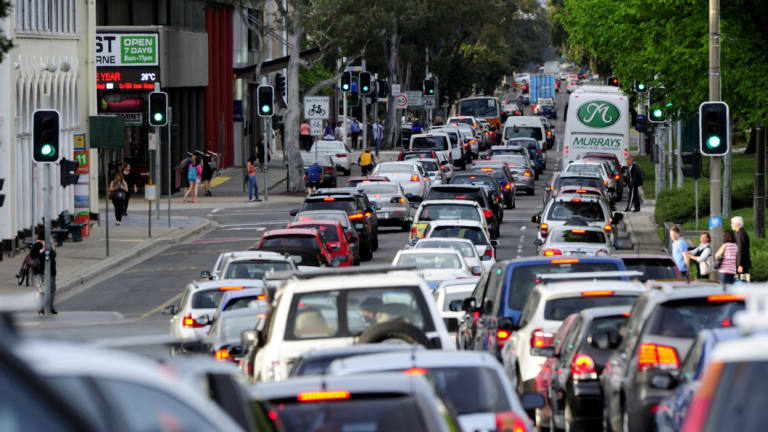 Civic sees the most commuters in Canberra compared to any other suburb.
