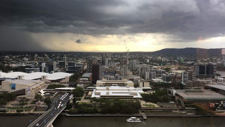 Severe thunderstormsis expected to approach Brisbane CBD.