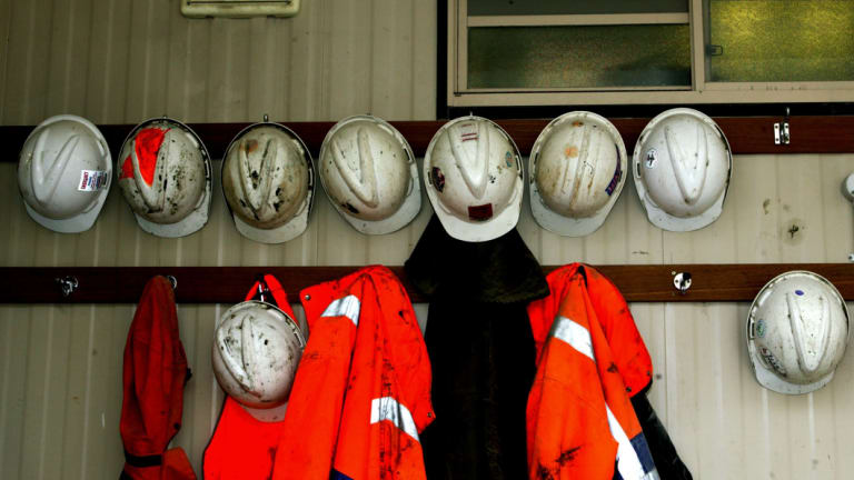 """Greenies worry about """"just transition"""" for mining workers displaced by renewable energy."""
