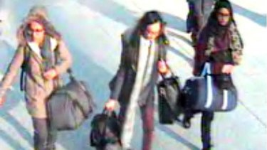 In 2015, Amira Abase,  Kadiza Sultana and Shamima Begum (right) flew out of Gatwick airport together to join Islamic State.