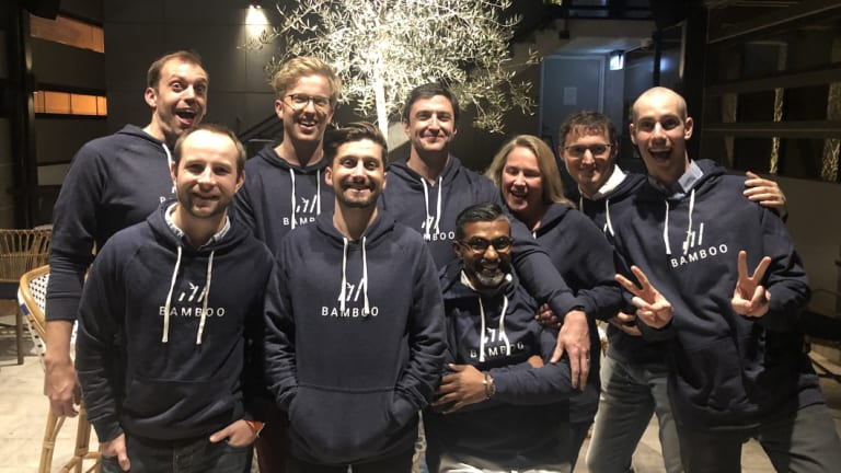 The Bamboo micro-investment cryptocurrency app team.