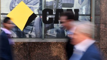 Can't: Commonwealth Bank  customers are unable to access their accounts online.
