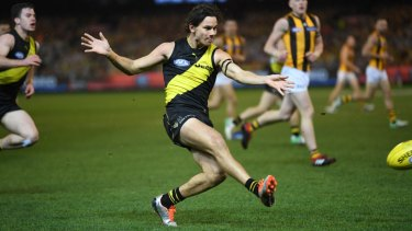 Exciting: Richmond's Daniel Rioli.