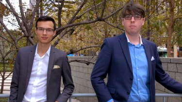 Mark McDonald and Josiah Humphrey started Appster when they were teenagers.
