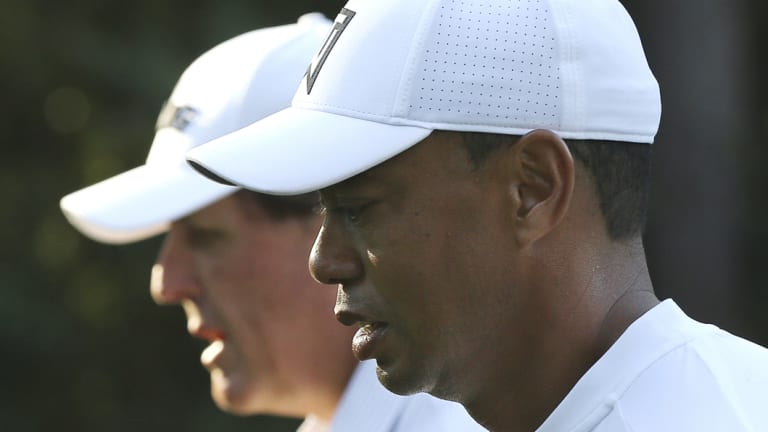 Tiger Woods and Phil Mickelson are heading for Vegas.