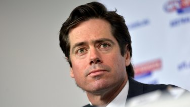 AFL boss Gillon McLachlan proposed he should float the game and use the proceeds to buy the Australian Open.