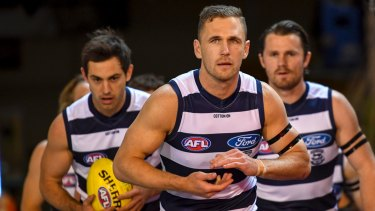 Is Father Time - and a bruising style - catching up with Geelong skipper Joel Selwood?