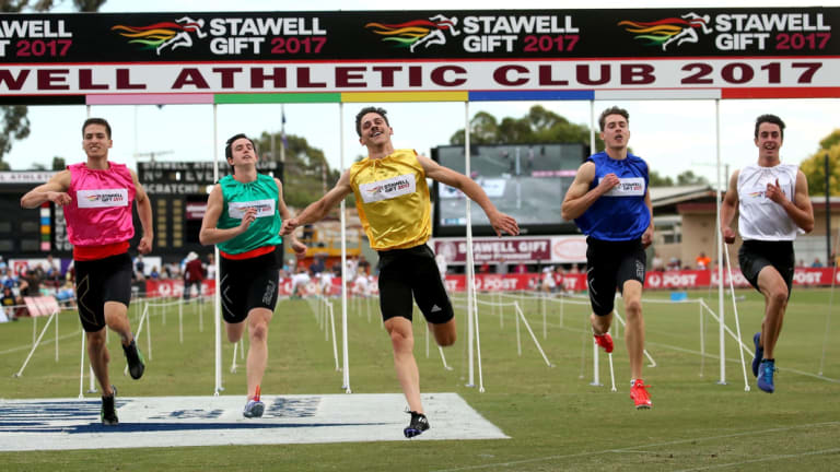 Tradition: The Stawell Gift has been running for well over a century.