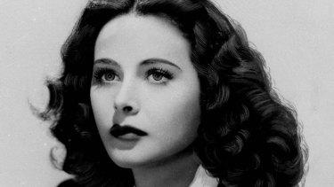 A 1941 portrait of actress Hedy Lamarr.