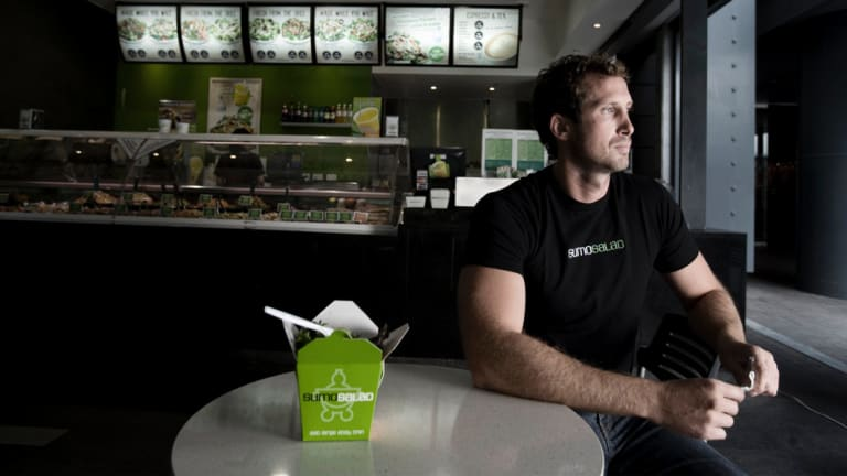 Luke Baylis, co-founder of Sumo Salad.