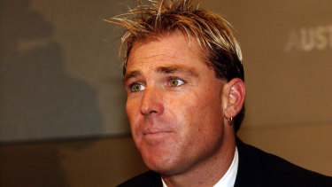 Cricketer Shane Warne served a one-year ban in 2003.