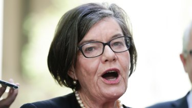 Crossbench MP Cathy McGowan.