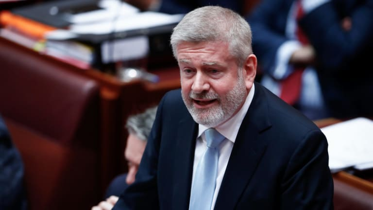 Minister Fifield said the government had formed the view that permitting betting on so-called synthetic lotteries undermined the 'long-standing community acceptance of official lottery and keno products'.