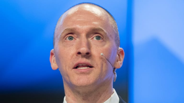 Carter Page, a former?foreign policy adviser of Donald Trump