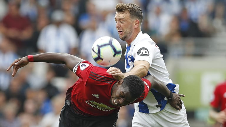 Pressure: Paul Pogba and his Manchester United teammates will be under enormous strain if they suffer defeat again this weekend.