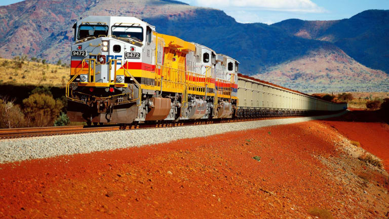 Rio Tinto has finished deploying its automated train network in the Pilbara.