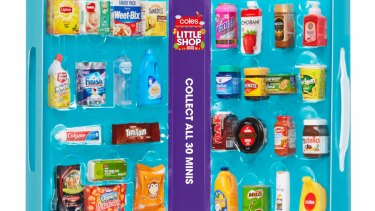 Coles' 'Little Shop' promotion was one of the factors in a disappointing Woolworths result.