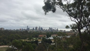 View of city from Abbotsford Convent.