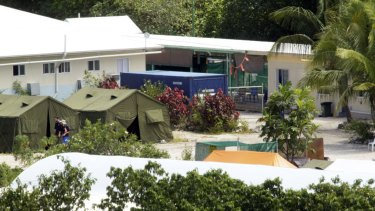 The Nauru detention centre in 2012.