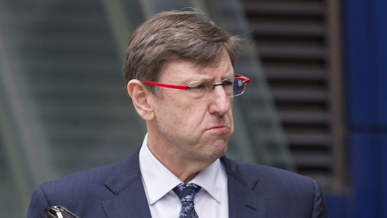 Greg Martin, chief risk officer for Clearview gave evidence today at the Royal Commission into Misconduct in the Banking, Superannuation and Financial Services Industry in Melbourne.