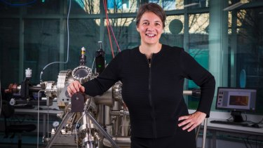 Michelle Simmons is a quantum physics professor at UNSW.
