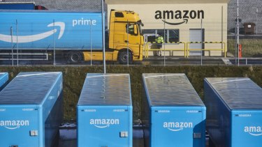 Amazon has been disrupting the freight sector in the US.