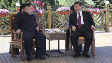 Kim reportedly said he wanted to keep Xi updated with the latest situation and strengthen cooperation with China.