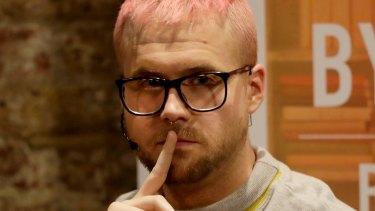 Whistleblower Chris Wylie,who once worked for the UK-based political consulting firm Cambridge Analytica.