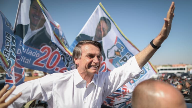 Jair Bolsonaro filled a political and institutional vacuum that was emerging in Brazil.