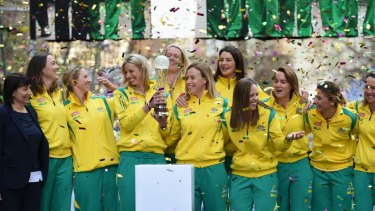 The Diamonds won on home soil in 2015.