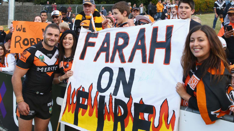 Robbie Farah could be back in Tigers colours by the end of the month.