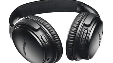 Noise-cancelling headphones make flying a breeze.
