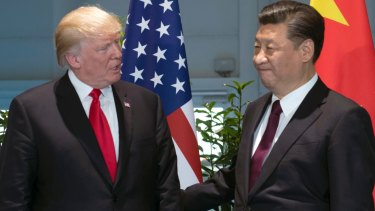 Chinese President Xi Jinping has shown no signs of backing down to Donald Trump.