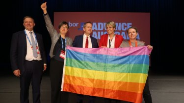 A federal Labor government would ban gay conversion therapy and introduce a dedicated LGBTI human rights commissioner.