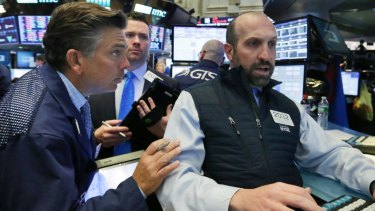 The plunge has confused traders on Wall Street.