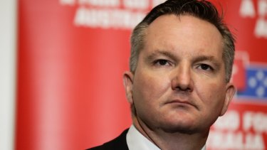 Shadow Treasurer Chris Bowen at the Australian Labor Party Conference in December.
