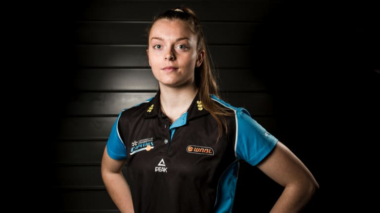 Abbey Wehrung is set to return to Canberra in different colours.