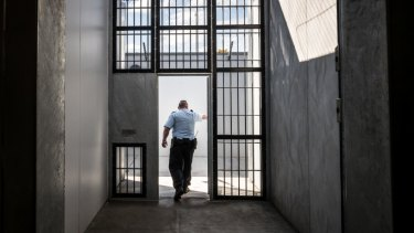 The Olearia Unit at Barwon Prison is the highest security unit in Victoria