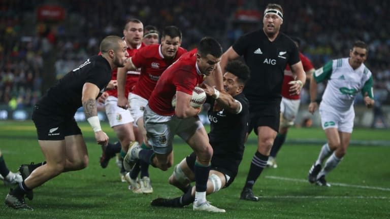 Endangered: The traditional British and Irish Lions tour format is under threat.