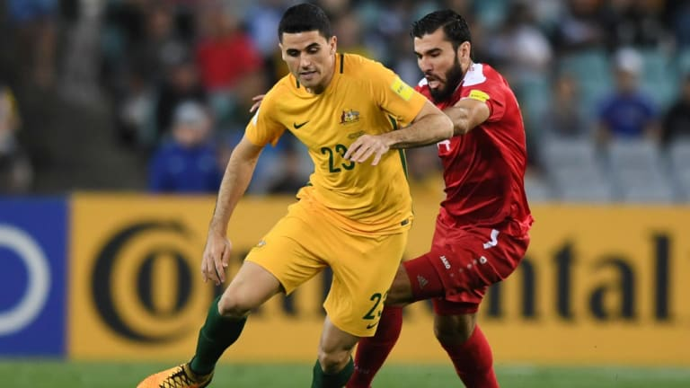 Socceroos striker Tom Rogic is set to play in his first World Cup next month.