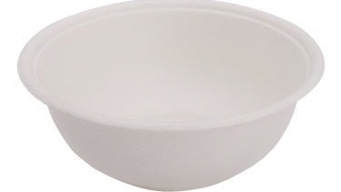 A compostable food containers from Ecoware Solutions.