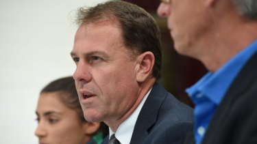 In the dark: Sacked coach Alen Stajcic has not been made aware of any specific allegations.
