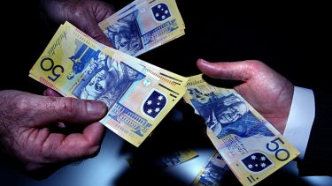 We are much more careful with $50 notes.
