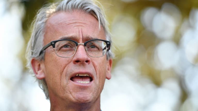 Prized gig: David Gallop has long been linked with the Cricket Australia chief executive's job.